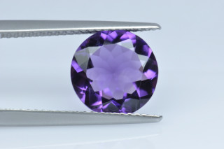 AME130M10_2 - Amethyst 10.00 Round, 2.64 carats