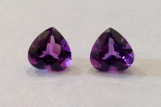AME926M - Amethyst 8x8 Heart, 1.83 carats