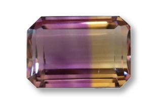 AMETR434M2 - Ametrine 14x10 Octagon, 9.44 carats