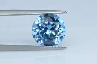 AQS130M - Aquamarine Synthetic 10.00 Round
