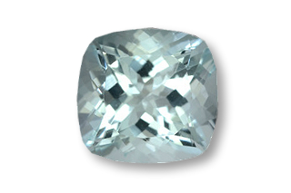 AQU01821M - Aquamarine 6x6 Cushion, 1.00 carats