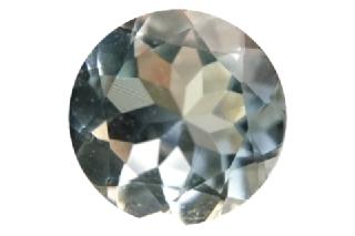 AQU126M4_139 - Aquamarine 8.00 Round, 1.39 carats