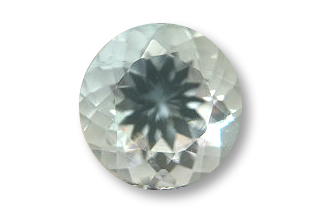 AQU126M4_183 - Aquamarine 8.00 Round, 1.83 carats