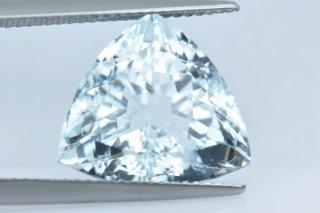 AQU738M - Aquamarine 14x14 Trillion, 8.24 carats