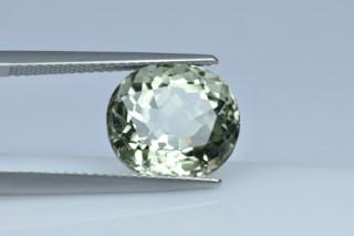 GRB231M - Green Beryl 12x10 Oval, 5.97 carats