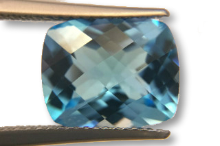 BLT01831MCT2_622 - Blue Topaz 12x10 Cushion Checkerboard, 6.22 carats