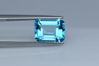BLT427M10_2 - Blue Topaz 10x8 Octagon, 3.45 carats