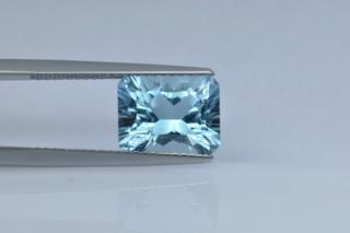 BLT427SC_2 - Blue Topaz 10x8 Octagon Concave Cut, 3.70 carats