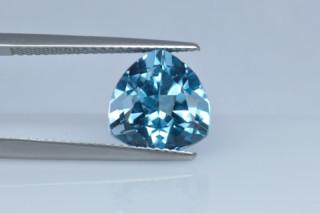 BLT730S_1 - Blue Topaz 10x10 Trillion, 4.91 carats