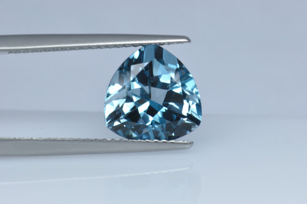 BLT730S_5 - Blue Topaz 10x10 Trillion, 4.62 carats