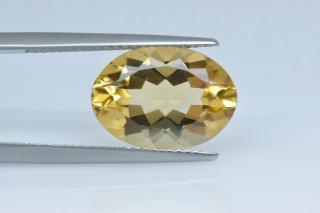 CIT234M_3 - Citrine 14x10 Oval, 4.91 carats