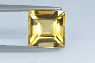 CIT330M10_1 - Citrine 10x10 Square, 4.63 carats