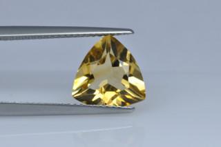 CIT730M_4 - Citrine 10x10 Trillion, 2.55 carats