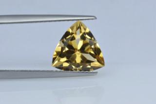 CIT730M_6 - Citrine 10x10 Trillion, 3.12 carats