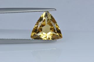 CIT730M_8 - Citrine 10x10 Trillion, 2.40 carats