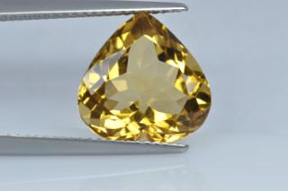 CIT934M10_3 - Citrine 12x12 Heart, 5.07 caratS