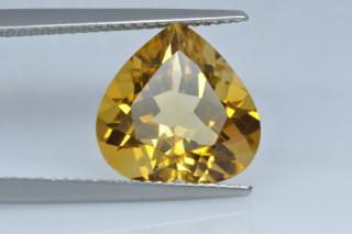 CIT934M10_4 - Citrine 12x12 Heart, 5.20 carats