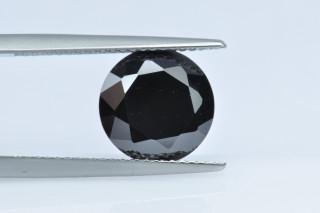 CUZBL130M - Black Cubic Zirconia 10.00mm Round