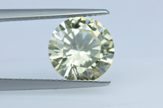 CUZCA130M - Canary Cubic Zirconia 10.00mm Round