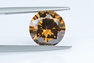 CUZCO130M - Coffee Cubic Zirconia 10.00mm Round