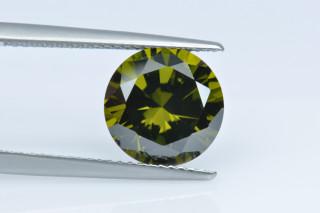 CUZOL130M - Olive Cubic Zirconia 10.00mm Round