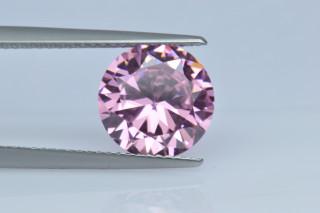 CUZP130M - Pink Cubic Zirconia 10.00mm Round