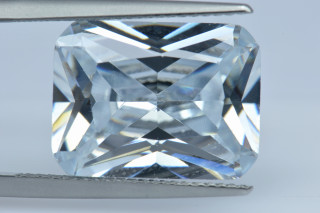 CUZ02138M - Cubic Zirconia 16x12mm Octagon Princess Cut