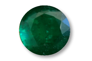 EME121M3_0.84 - Emerald 6.00mm Round, 0.84 carats