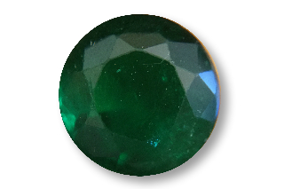 EME121M3_0.88 - Emerald 6.00mm Round, 0.88 carats