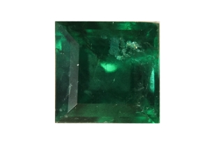 EME317M - Emerald 5.00x5.00mm Square, 0.57 carats