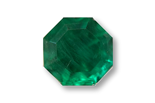 EME414F036 - Emerald 4.3x4.3 Regular Octagon 0.36cts