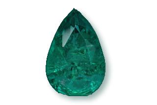 EME523M - Emerald  9x6 Pear, 1.20 carat