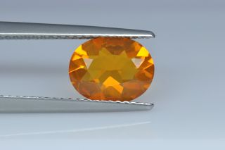FIO224M_2 - Fire Opal  9x7 Oval,  1.18 carats