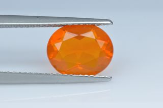 FIO227M_3 - Fire Opal  10x8 Oval,  1.74 carats