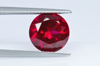 GAS130M - Garnet Synthetic 10.00 Round