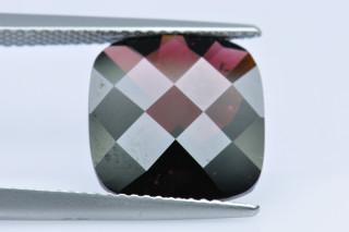 GAR01834MCT - Garnet 12x12 Cushion Checkerboard,  7.70 carats