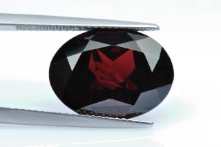 GAR238M_1 - Garnet 16x12 Oval,  11.37 carats