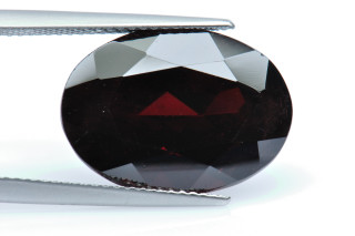GAR240M_1 - Garnet 18x13 Oval,  16.27 carats