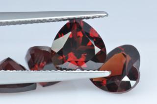 GAR926MPLUS10 - Garnet 8x8 Heart, 2.42 carats
