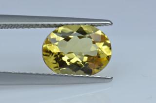 GOB227M_1 - Golden Beryl 10x8 Oval, 2.01 carats
