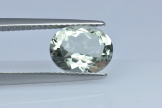 GAM227M_1 - Green Amethyst 10x8 Oval, 2.47 carats