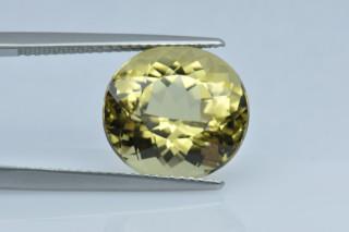 GRB235M - Green Beryl 14x12 Oval, 8.01 carats