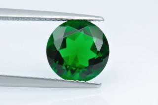 GRC130M - Green Terbium Glass 10.00 Round