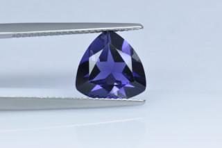 IOL730M_2 - Iolite 10x10 Trillion, 2.16 carats