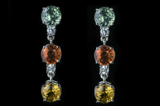 SAPDELIGHT - Green, Orange & Yellow Sapphires
