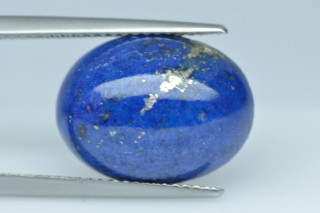 LAL288M - Lapis Lazuli  16x12 Oval Cabochon, 8.09 carats