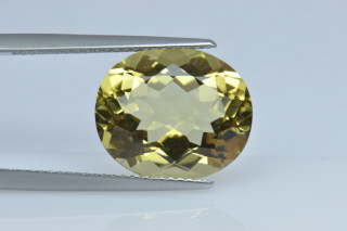 LEQ235M_1 - Lemon Quartz 14x12 Oval, 6.84 carats