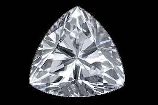 MOI724EF - Moissanite 7.00mm Trillion, 1.20ct