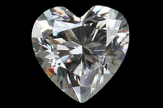 MOI924EF - Moissanite 7.00mm Heart, 1.17ct