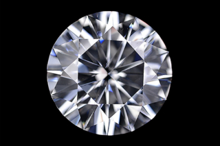 MOI117EF - Moissanite 5.00mm Round, 0.40ct
